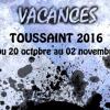 Planning des MJ- Toussaint 2016