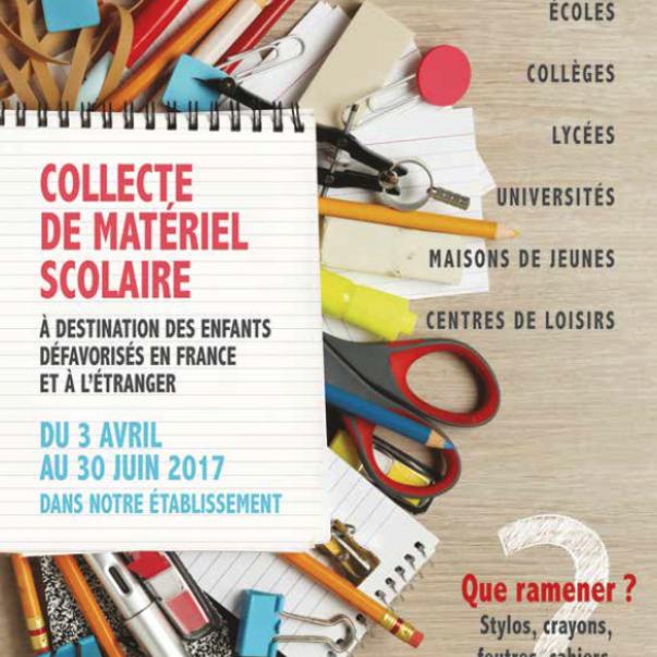 Fournitures scolaires: l'OMJA repart en collecte !