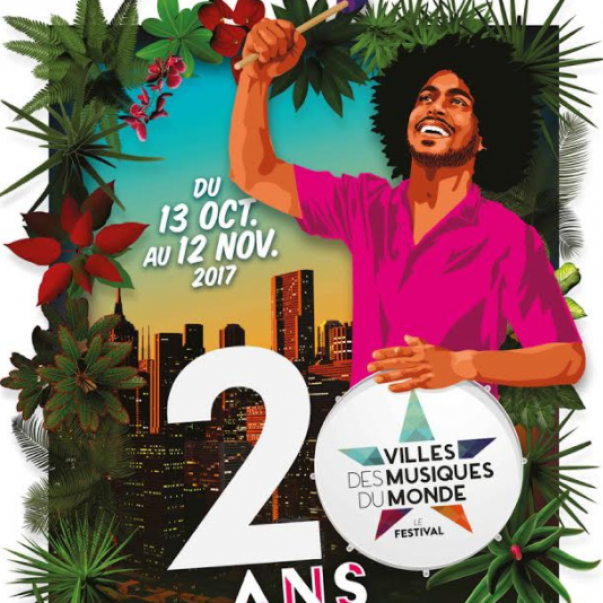 Villes des Musiques du Monde fête ses 20 ans