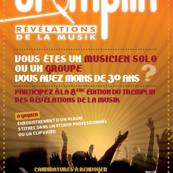 Tremplin Révélations de la Musik: l'appel à candidature a commencé !