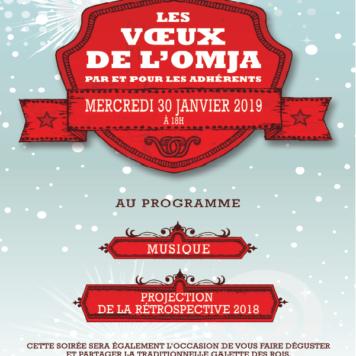 PRÉSENTATION  DES VŒUX DE L'OMJA 2019