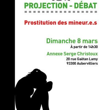 8 mars 2020: Projection-débat